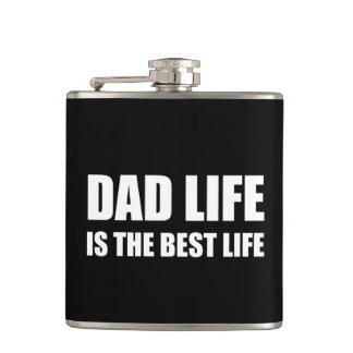 Dad Life Best Life Hip Flask