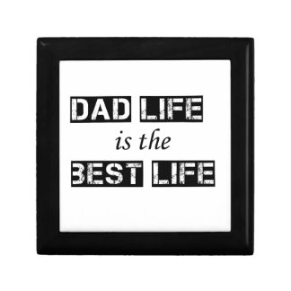 dad life is the best life gift box