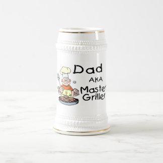 Dad Master Griller Coffee Mugs