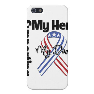 Dad - Military Supporting My Hero Case For iPhone 5