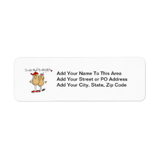 Dad - Nuts About My Daughter T-shirts and Gifts Return Address Label