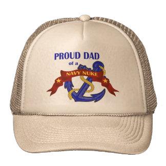 Dad of a Navy Nuke Trucker Hat