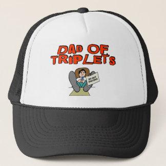 Dad of TRIPLETS Trucker Hat