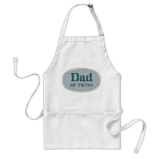 Dad of Twins Adult Apron
