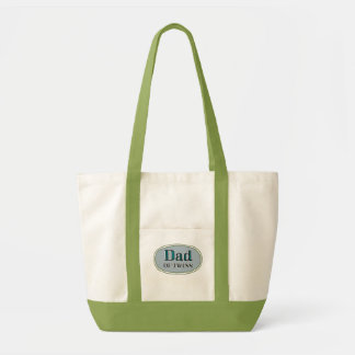 Dad of Twins Impulse Tote Bag