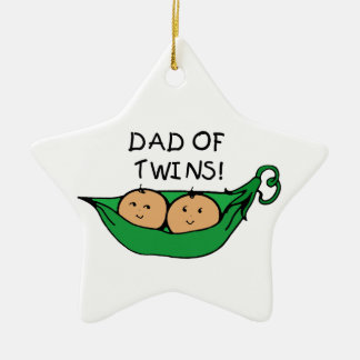 Dad of Twins Ornament