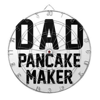 Dad Pancake Maker Dartboard
