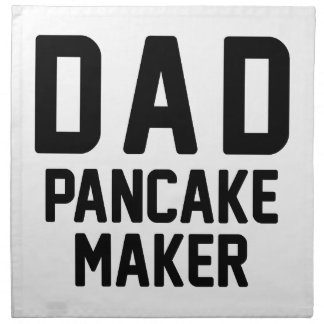 Dad Pancake Maker Napkin