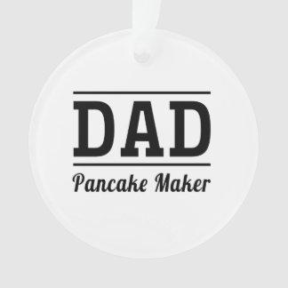Dad. Pancake Maker Ornament