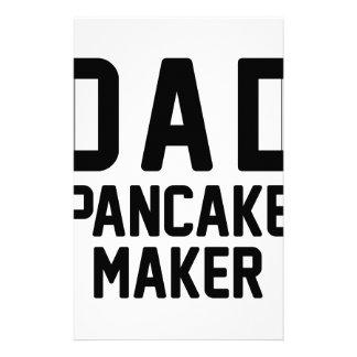 Dad Pancake Maker Stationery