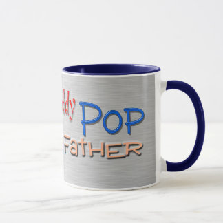 Dad Papa Pop Father Mug