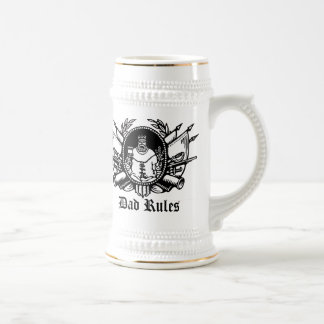Dad Rules! Beer Stein