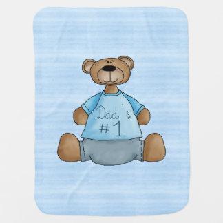 Dad´s #1 baby blanket