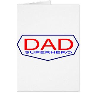 Dad Superhero Cards