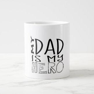 Dad Superhero mug