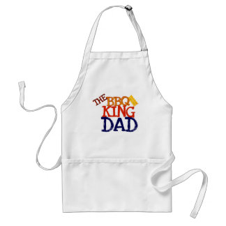Dad the BBQ King Standard Apron