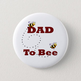 Dad to Be 2 Inch Round Button