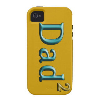 Dad to the Second Power Father's Day Gifts Vibe iPhone 4 Cases