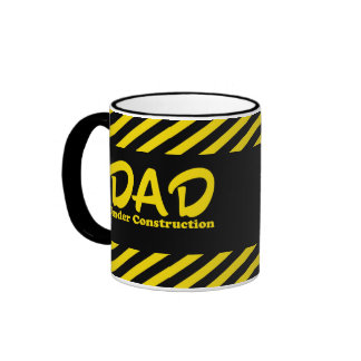 Dad Under Construction Coffee Mug