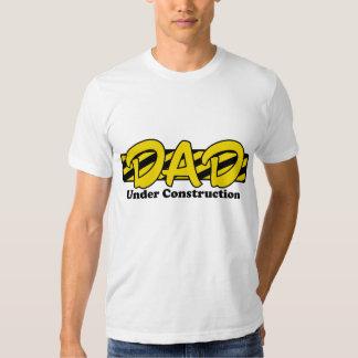 Dad Under Construction Tshirt