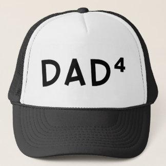 Dad x 4 trucker hat