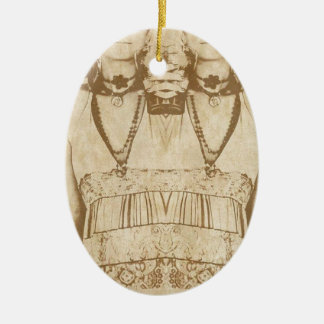 Dada is Dead Ceramic Ornament