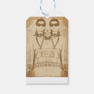 Dada is Dead Gift Tags
