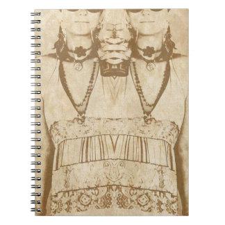 Dada is Dead Spiral Notebook