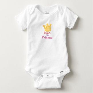 Dada's Little Princess Baby Shirt
