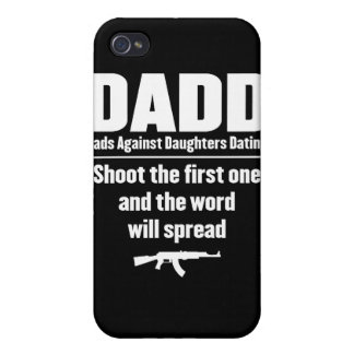 dadd - dads against daughters dating funny cover for iPhone 4