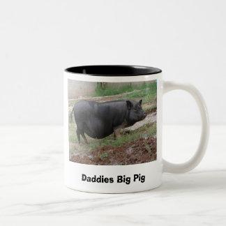Daddies Big Pig Mugs