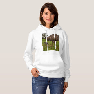 Daddy And Baby Emus Going For A Walk, Hoodie