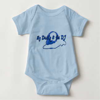 Daddy DJ for Boys Baby Bodysuit