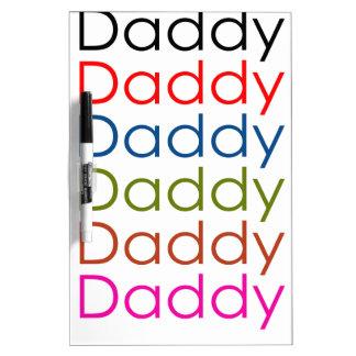 daddy Dry-Erase whiteboard