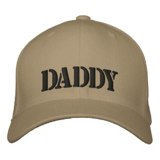 DADDY Embroidered Peaked cap