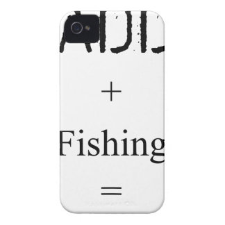 Daddy + Fishing = Love iPhone 4 Case