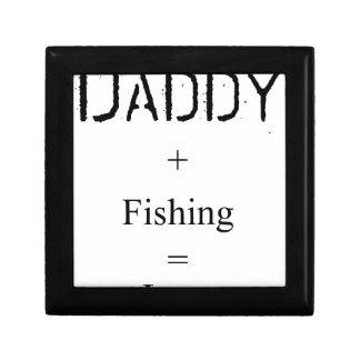 Daddy + Fishing = Love Jewelry Box