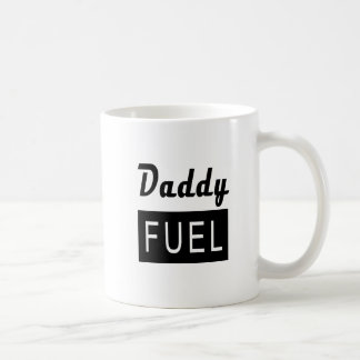 DADDY FUEL Father's Work Dad Coffee Mug