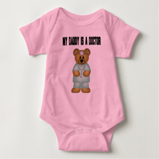 Daddy Is A Doctor Baby Bodysuit