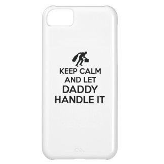 Daddy Keep calm tshirts Case-Mate iPhone Case