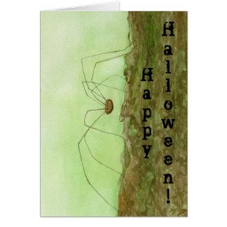 Daddy Long Legs Halloween Card