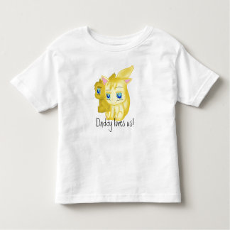 Daddy loves us t-shirts
