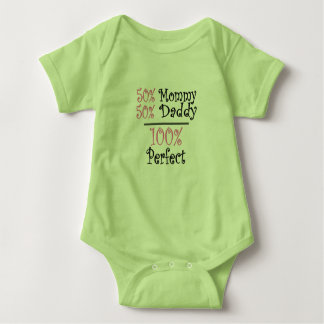 Daddy+Mommy=Me Baby Bodysuit