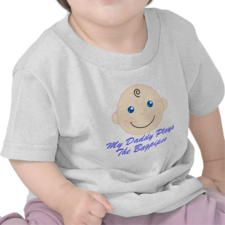 Daddy Plays The Bagpipes Baby Tee Gift