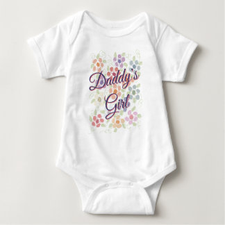 Daddy Romper For Little Girl
