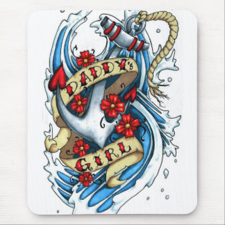 Daddy s girl mousepads