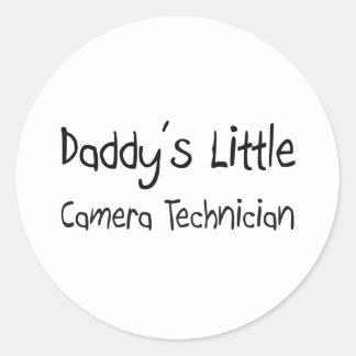 Daddy s Little Camera Technician Stickers