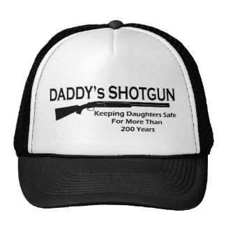 Daddy's Shotgun Trucker Hat