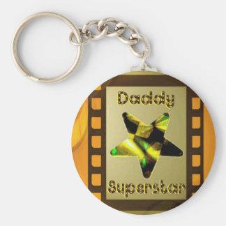 Daddy Superstar Keychain