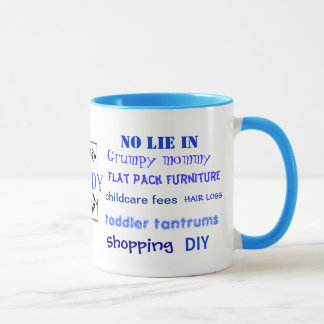 Daddy Swear Words! Funny Daddy Joke Mug
